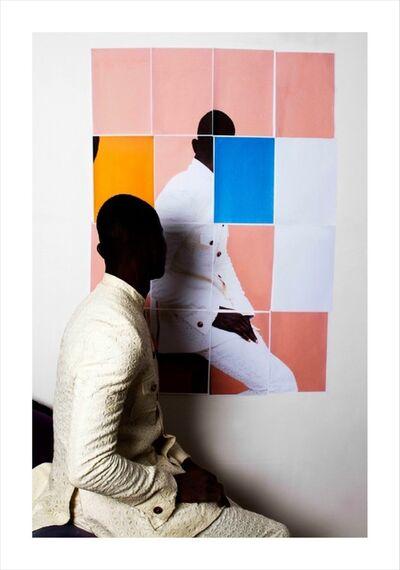 Lakin Ogunbanwo, 'Untitled (Pink Blocks I)', 2014