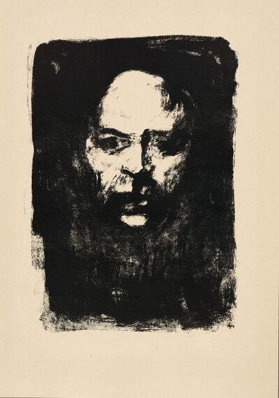 Emil Nolde, 'Männerkopf', 1907