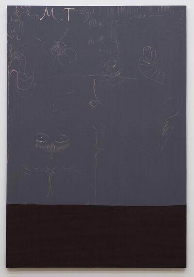 Tam Ochiai, 'M.T gray and red code', 2012