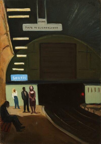 Alberto Ziveri, 'Metro Paris', 1956