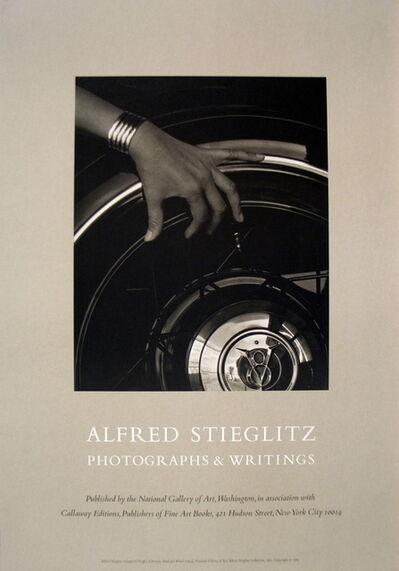 Alfred Stieglitz, 'Georgia O'Keefe: A Portrait, Hand, and Wheel', 1983