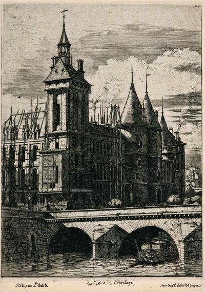 Charles Meryon, 'Two Prints', 1852