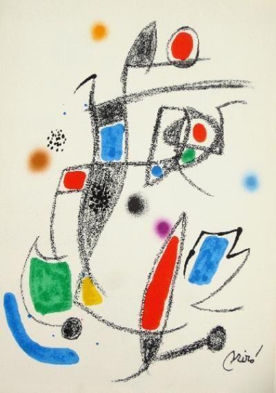 Joan Miró, 'Maravillas con variaciones acrósticas en el jardín de Miró - 10', 1975