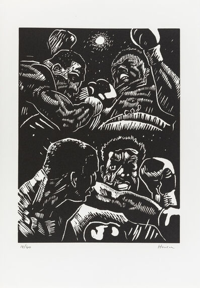 Peter Howson, 'Hero of the People:Four Boxers', 1987