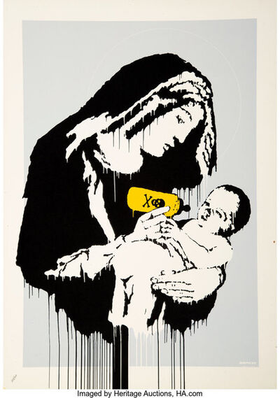 Banksy, 'Toxic Mary', 2004