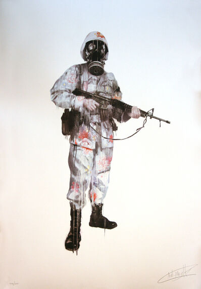 "Antony Micallef, 'ANTONY MICALLEF ""PEACE KEEPER"" SIGNED & NUMBERED', 2007"