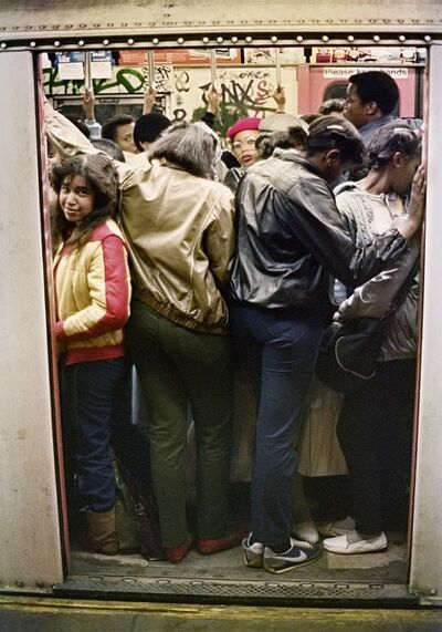Jamel Shabazz, 'Watch the closing doors', 1980