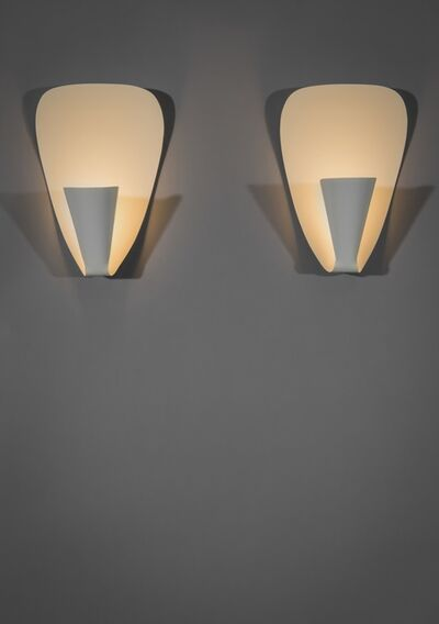 Michel Buffet, 'Pair of sconces B206', 1950