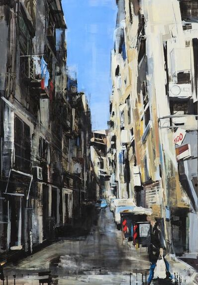 Sean Flood, 'Street in Naples', 2012