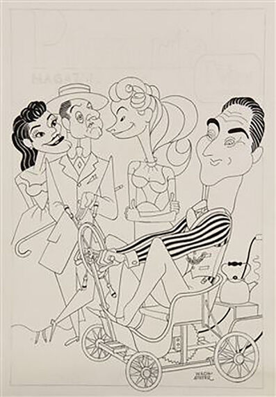 """George Wachsteter, '""""Holiday on Wheels"""" with Sid Caesar', 1959"""