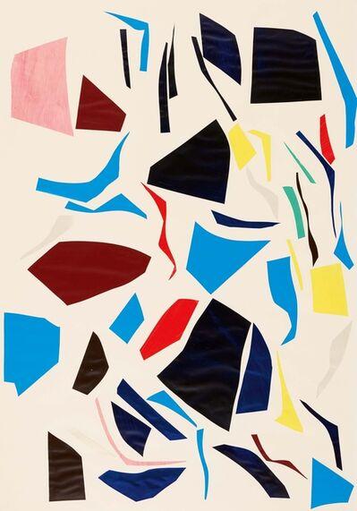 Imi Knoebel, 'Untitled (Knife Cuts)', 1977