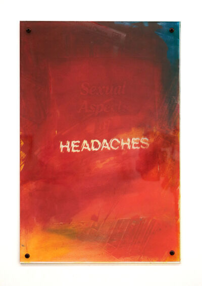 Sara Greenberger Rafferty, 'Headaches 1 ', 2017