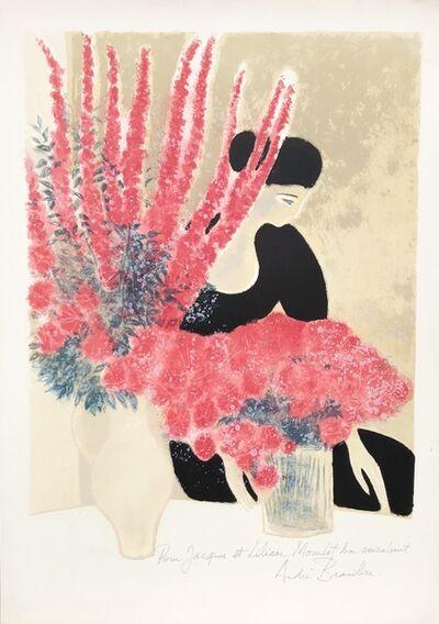 Andre Brasilier, 'Les Deux Bouquets', 1980