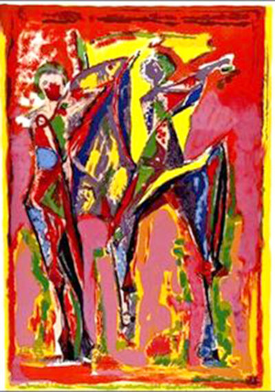 Marino Marini, 'Imagination in Coulour', 1979