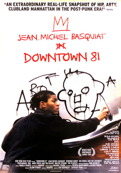 Jean-Michel Basquiat, 'Basquiat Downtown 81 original movie poster ', ca. 2001