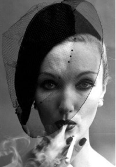 William Klein, 'Smoke + Veil 2, Paris (Vogue), 1958', 2019