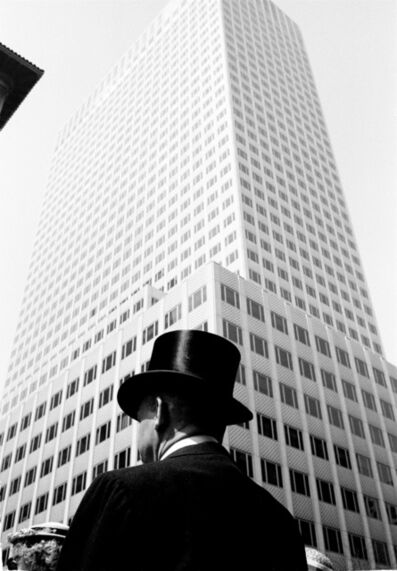 Thomas Hoepker, 'Man with Top Hat, New York', 1960