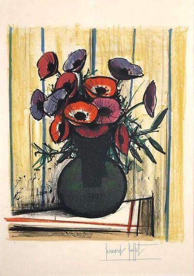 Bernard Buffet, 'The anemones', 1972