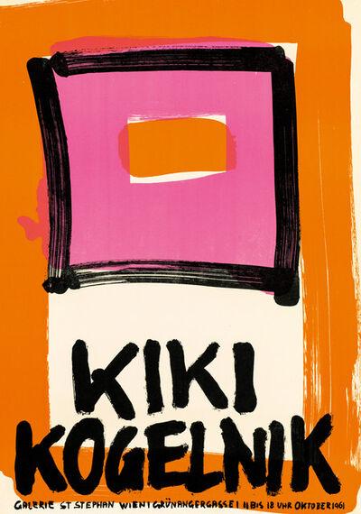 Kiki Kogelnik, 'KIKI KOGELNIK', 1961