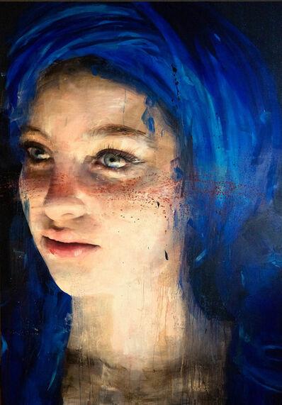 Roberta Coni, 'Matilde with Blue Turban', 2019