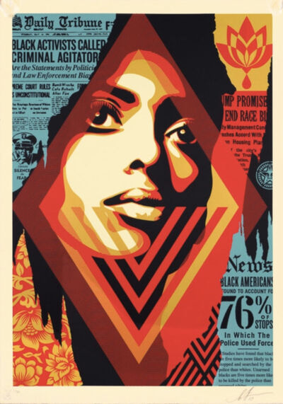 Shepard Fairey, 'Bias by numbers', 2019
