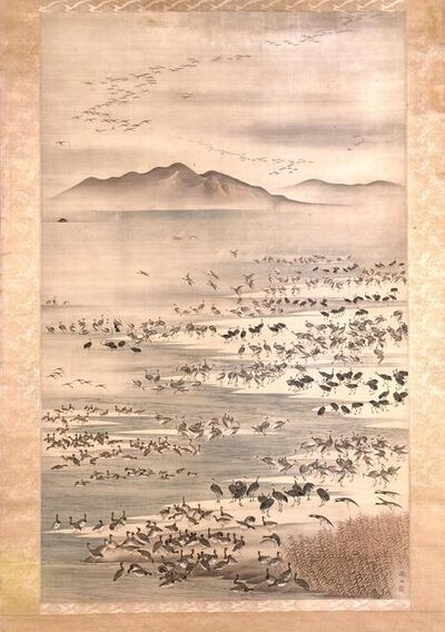 Mori Tetsuzan, 'Myriad of Aquatic Birds', 1775-1841