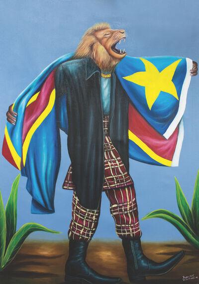 Bodo Fils BBM (M'Pambu Bodo Bodo), 'Sapeur-Totem series, Congolese Lion.', 2016