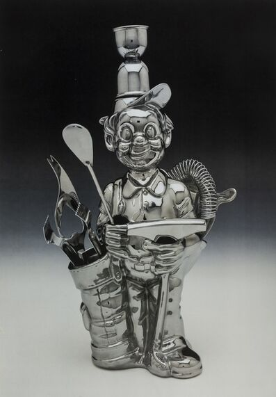 Jeff Koons, 'Luxury and Degradation. Fisherman Golfer', 1986
