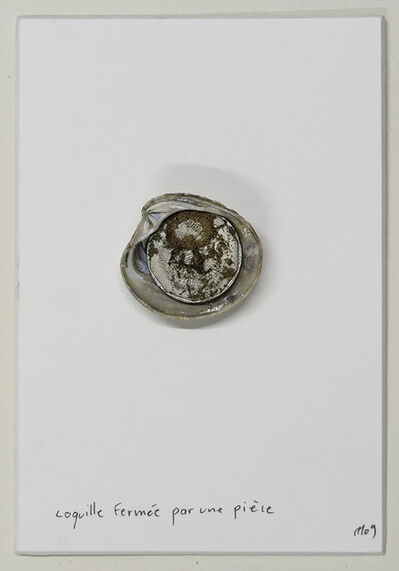 Marcel Miracle, 'Coquille fermée par une pièce', 2009