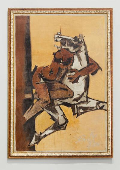 M. F. Husain, 'Rape', 1970