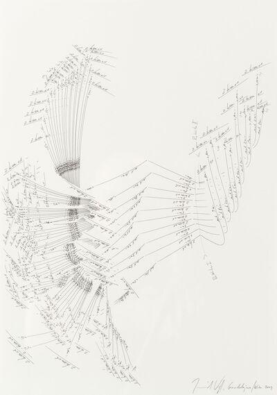 Jorinde Voigt, 'Zwei Küssen Sich', 2009