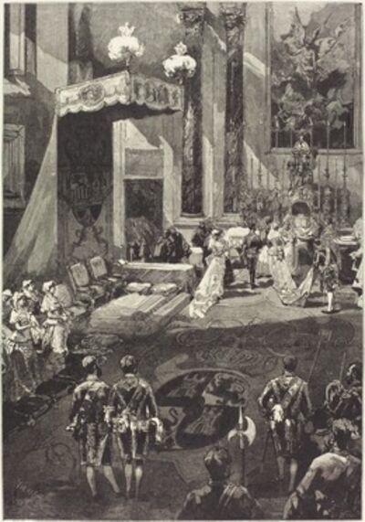 Daniel Vierge, 'La Naissance d'une Enfante', 1882