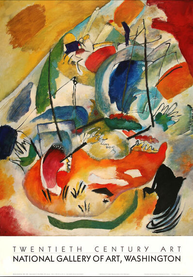 Wassily Kandinsky, 'Improvisation 31 (Sea Battle) 1913', 1988