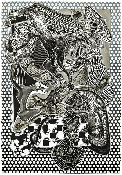 Frank Stella, 'Riallaro (Black and White)', 1995