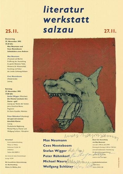 Max Neumann, 'Literatur Werkstatt Salzau', 1993