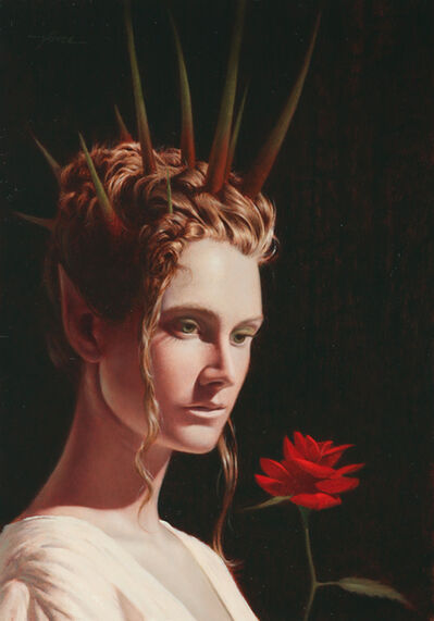 Vince Natale, 'Rose, Queen of Thorns', 2017