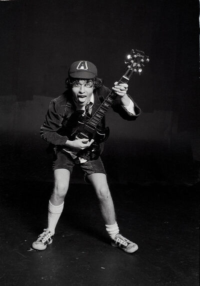 Michael Putland, 'Angus Young of AC/DC, London, 1976', 1976