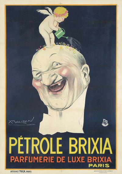 Luciano Achille Mauzan, 'Pétrole Brixia / Parfumerie de Luxe Brixia Paris.', ca. 1924