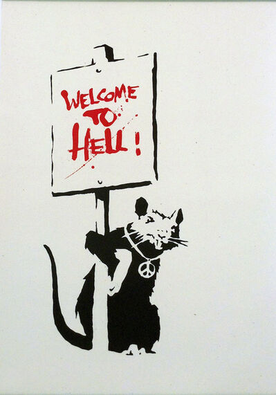 Banksy, 'Welcome to Hell', 2004