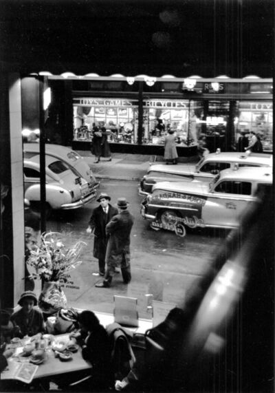 David Vestal, 'East 59th Street from Automat Cafeteria, NYC', 1950