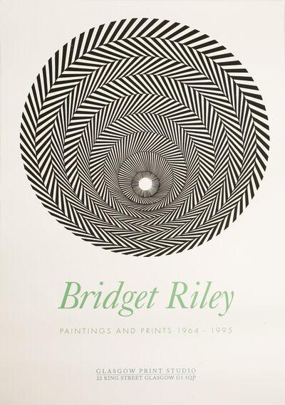 Bridget Riley, 'Glasgow Print Studio Poster', 1996