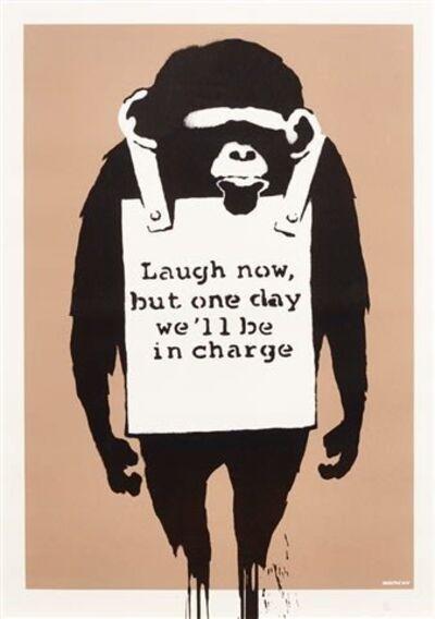 Banksy, 'Laugh Now ', 2005