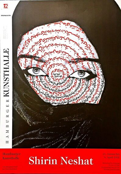 Shirin Neshat, 'Shirin Neshat Exhibition at the Hamburger Kunsthalle (Hand Signed)', 2001