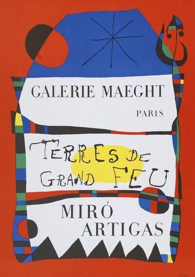 Joan Miró, 'Terres de Grand Feu', 1956