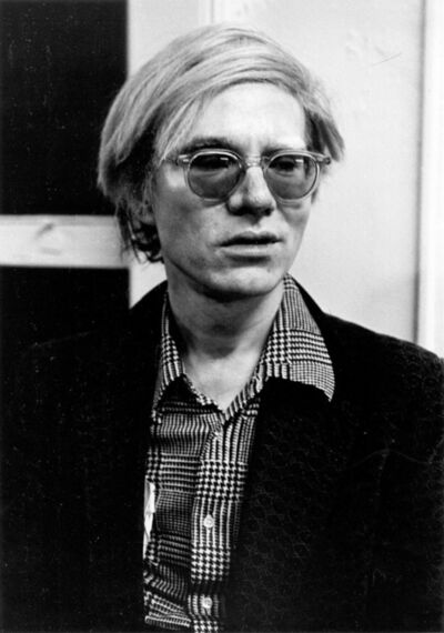 Gerard Malanga, 'Andy Warhol in a pensive moment at the Factory', 1970