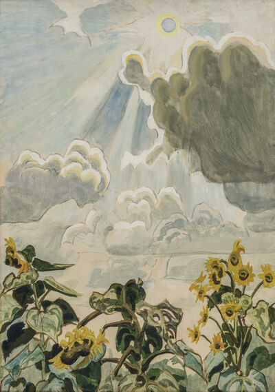 Charles Ephraim Burchfield, 'Untitled (Sunflowers)', 1916-1921