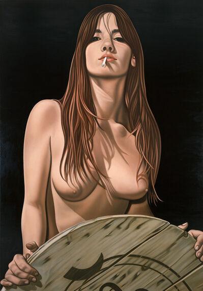 Richard Phillips, 'Girl with Cigarette', 2008