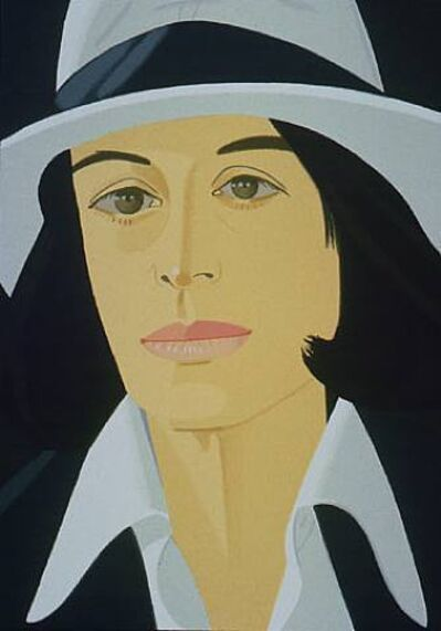 Alex Katz, 'Ada in White Hat (from Alex & Ada portfolio) ', 1990