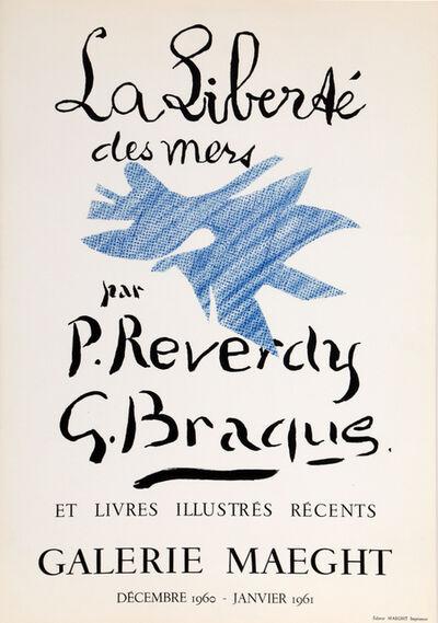 Georges Braque, 'Galerie Maeght - La Liberte des Mers', 1960