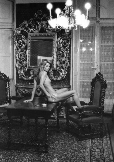 Helmut Newton, 'Charlotte Rampling at the Hotel Nord Pinus II, Arles', 1973